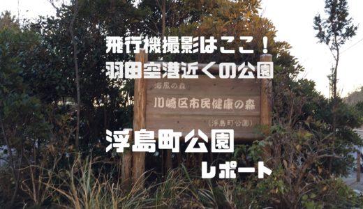 飛行機撮影はここ!羽田空港近くの浮島町公園レポート