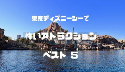 初めての方必見!東京ディズニーシーで怖いアトラクションベスト5
