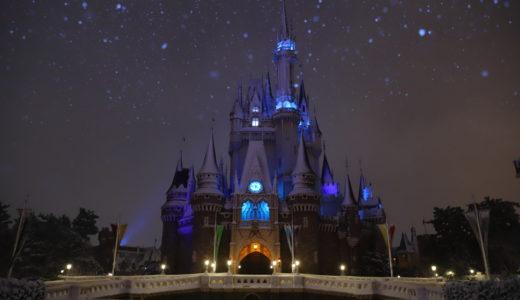 最高のシュチュエーション!雪が積もった東京ディズニーランドを撮ってきた!
