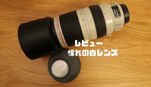 【レビュー】憧れの白レンズ『EF100-400mm F4.5-5.6L IS II USM』