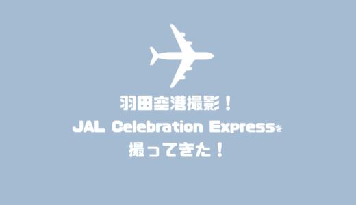 羽田空港撮影!ディズニーセレブレーションエクスプレスを撮ってきた