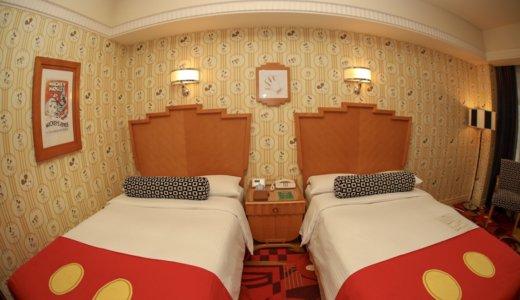 【レビュー ミッキーマウスルーム】アンバサダーホテルはディズニー好きに最高のホテル