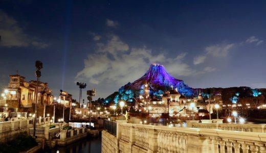 長時間露光の勧め!ディズニーシーの夜景を綺麗に撮る方法